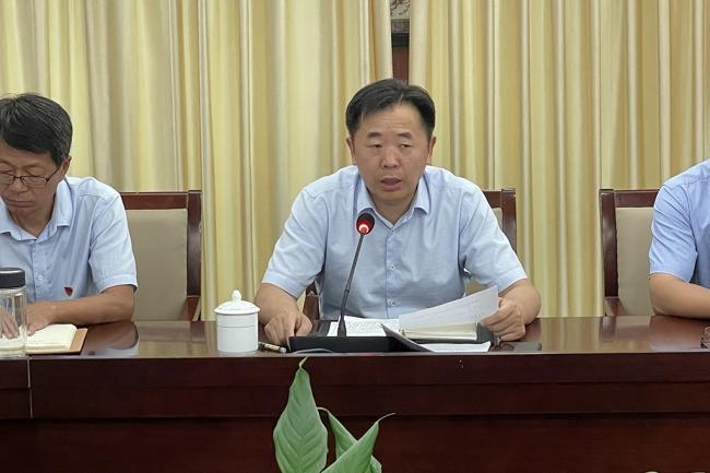 酷游平台地址ku111召开部分中层干部试用期考核工作会议